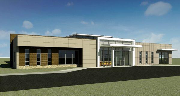 conneaut-health-center-exterior-rendering